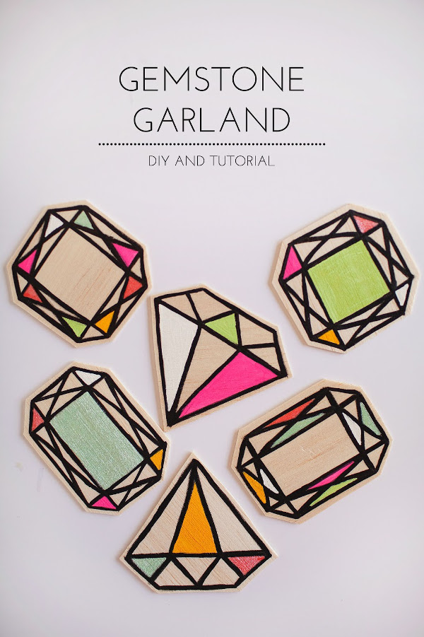 Gemstone Garland from Tell Love and Party