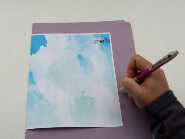 2016 Printable Planner DIY | Red Circle Crafts