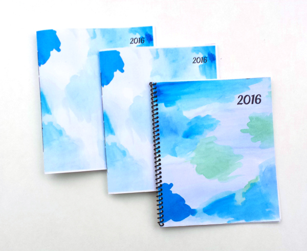 2016 Printable Planner DIY | Red Circle Crafts